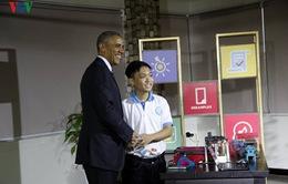 Một số hình ảnh của Tổng thống Obama tại TP.HCM