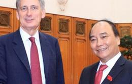 Thủ tướng Nguyễn Xuân Phúc tiếp Bộ trưởng Ngoại giao Vương quốc Anh