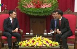Đồng chí Võ Văn Thưởng tiếp Trưởng Ban Thanh niên Đảng Dân chủ Tự do Nhật Bản