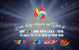 VTV tường thuật trực tiếp giải bóng chuyền nữ Cúp VTV Bình Điền 2016