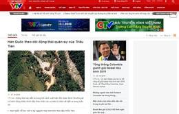 VTV News thử nghiệm phiên bản mới từ 10/10
