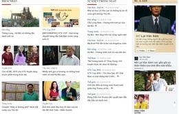 Ngắm giao diện mới cùng Báo điện tử VTV News