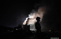 Nổ xe tải kinh hoàng trên cao tốc Trung Quốc, 25 người thương vong