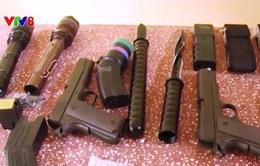 Bắt lô hàng vũ khí, công cụ hỗ trợ trái phép tại Quảng Trị