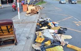 Vứt rác ở chung cư bị phạt từ 1 - 5 triệu đồng