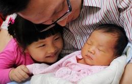 Tỷ lệ sinh con thứ hai tại Trung Quốc tăng