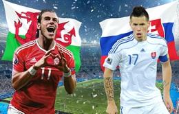 EURO 2016, bảng B: Xứ Wales – Slovakia và cuộc chiến của những tân binh