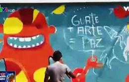 Một ngày của các họa sỹ đường phố tại Mỹ Latin