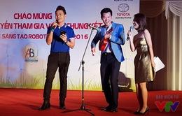 Màn ra mắt ấn tượng của bộ 3 MC tại VCK Robocon Việt Nam 2016
