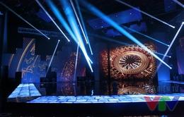 Ngắm sân khấu đẹp lung linh của Xuân đoàn viên 2016