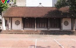 Hà Nội: Di tích Đình Bắc Cầu 3 xuống cấp, gần như bị bỏ hoang