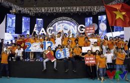 Xem lại những trận đấu cuối cùng tại VCK Robocon Việt Nam 2016