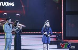 """Giành giải tại VTV Awards 2016, BTV Ngọc Trinh bất ngờ tỏ tình với """"bạn đời"""""""
