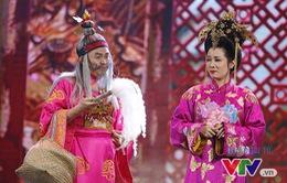 Gala cười 2017: Thanh Thanh Hiền đẹp ngọt ngào bên Xuân Hinh đẹp lão