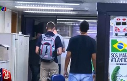 3 VĐV người Mỹ bị cấm rời Brazil do nghi án khai man