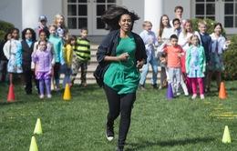Phu nhân Tổng thống Obama giản dị trong trang phục đời thường