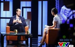 VIDEO: Bật mí hậu trường thú vị của cuộc trò chuyện với Hoàng tử William