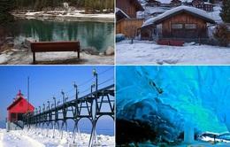 Những mảnh đất thần tiên trong mùa tuyết trắng