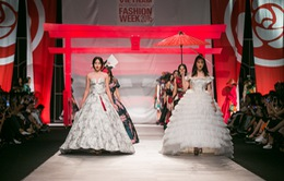 """Sắc màu Nhật Bản """"Tinh khôi"""" khép lại Tuần lễ thời trang quốc tế Việt Nam Thu - Đông 2016"""