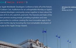 Apple sẽ tổ chức sự kiện WWDC 2016 ngày 13/6