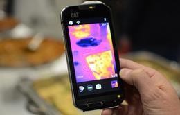 CAT S60 - Smartphone trang bị camera dò nhiệt đầu tiên sắp lên kệ