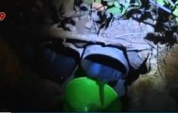 Bắt quả tang nhà máy xả thải không qua xử lý tại Lâm Đồng