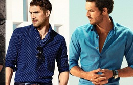 Những cách xắn tay áo cho nam giới trẻ trung, nổi bật