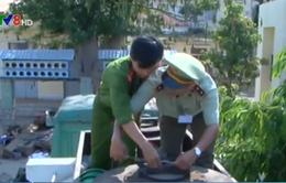 Phú Yên: Bắt quả tang tài xế phá kẹp chì ăn cắp xăng