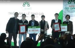 17 đồ án, công trình của kiến trúc sư trẻ, sinh viên đoạt giải Kiến trúc xanh