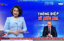 Tổng thống Putin trả lời thẳng thắn hơn 40 câu hỏi trong cuộc họp báo cuối năm