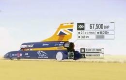 Xe siêu thanh Bloodhound sẵn sàng phá kỷ lục về tốc độ trên bộ