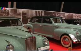 Trưng bày xe thời Liên Xô cũ tại Moscow