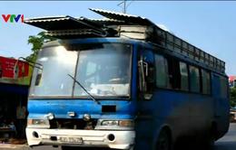 Kiểm tra xử lý toàn bộ xe khách hoán cải thành xe chở hàng