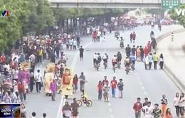 """""""Ngày không xe hơi"""" ở Jakarta"""