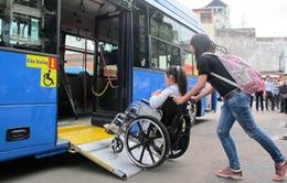 TP.HCM tập huấn cho người khuyết tật kỹ năng đi xe bus