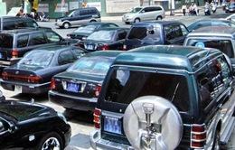 Hạn chế xe công tham gia đoàn công tác của Chính phủ