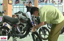 Hà Nam: Tạm giữ nhiều xe đạp điện có dấu hiệu vi phạm kiểu dáng