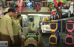 Phát hiện nhiều cửa hàng kinh doanh xe điện tự cân bằng nhập lậu