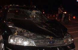 Tai nạn hi hữu trong đêm giữa ô tô và ngựa bất ngờ xuất hiện trên phố