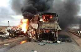 Tai nạn xe khách tại Afghanistan, hơn 50 người thương vong