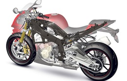 BMW làm khung xe mô tô bằng vật liệu sợi carbon