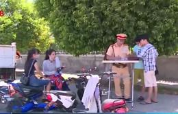 Ngày đầu xử phạt xe đạp điện không biển số: Nhiều người không biết quy định