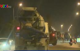 Hiểm họa từ xe tải nặng lưu thông trong giờ cấm