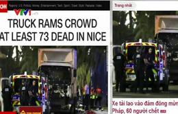 Điểm báo 15/7: Xe tải lao vào đám đông mừng quốc khánh ở Pháp, 73 người thiệt mạng