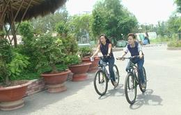Dịch vụ xe đạp địa hình thân thiện với môi trường tại vườn quốc gia Tràm Chim