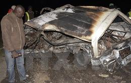 Xe chở dầu đâm liên hoàn ở Kenya, 40 người thiệt mạng
