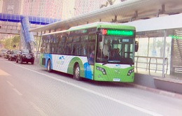 Dừng hoạt động 1 số phương tiện phục vụ xe bus nhanh trong giờ cao điểm
