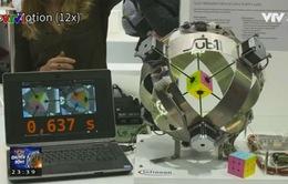 Robot Sub1 xếp khối rubik trong… 0,6 giây