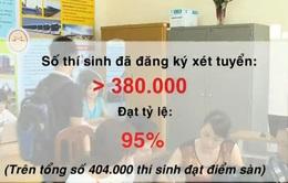 Gần 95% thí sinh đạt điểm sàn đã đăng ký xét tuyển
