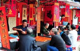 Xin chữ đầu năm tại Văn Miếu - nét đẹp văn hóa của người Việt
